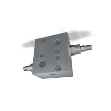NO solenoid 2/2 way 3/4-16UNF poppet valve with emergency